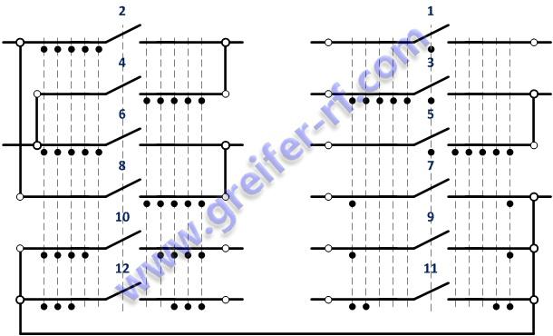 Схема командоконтроллера ККТ-